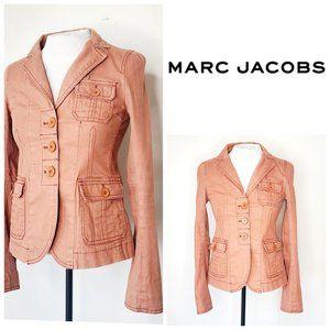 RARE! MARC JACOBS Burnt Orange Denim Jacket